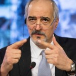 Syrian government delegation in Geneva for peace talks