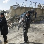Aid convoys depart for besieged Syrian town, villages