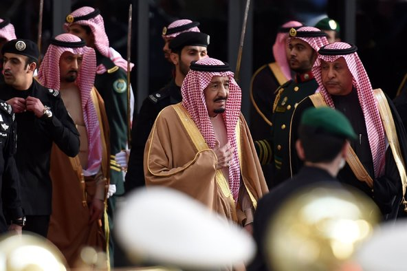 King Salman bin Abdulaziz of Saudi Arabia in Riyadh. Credit Fayez Nureldine/Agence France-Presse — Getty Images