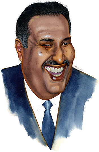 Lunch with the FT: Sheikh Hamad Bin-Jaber al-Thani