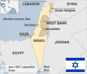 White House video shows Israel without Golan and West Bank / — THE ...